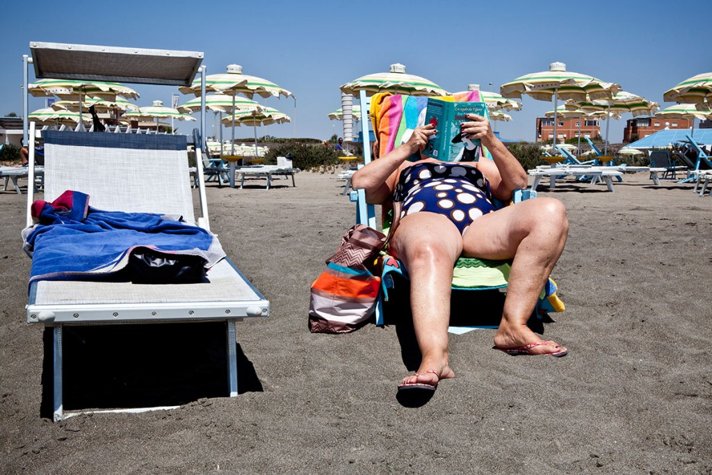 Filippo Massellani Austerity bites at Italy's beaches