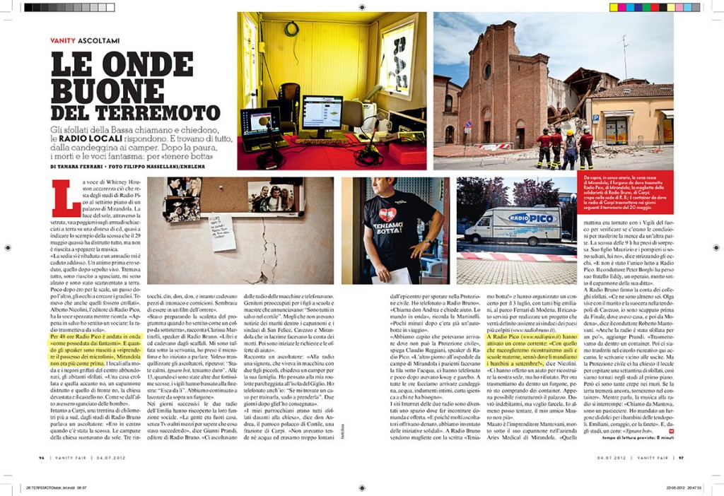 Filippo Massellani Tearsheet